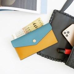 Edge leather cash wallet