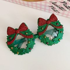 Glitter Wreath Glasses 글리터리스안경
