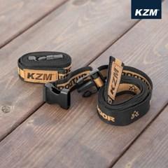 카즈미 크램 웨빙 스트랩 1.5M 2Pset K21T3F01 / 침낭 텐트 타프압축