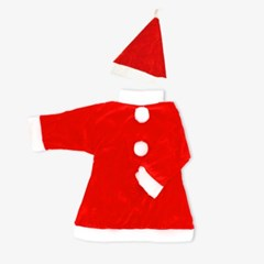어린이 3-5세 크리스마스 산타복 원피스 세트