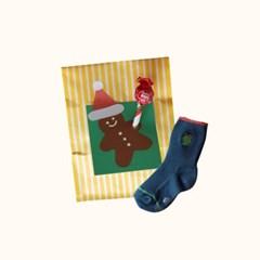 [꼬까참새] 크리스마스 파티_양말낱개세트(랜덤) 5EA