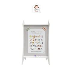 [맘스보드]에펠보드 / 유아 자석 칠판 화이트