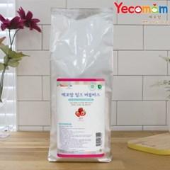[예꼬맘] 밀크 유아 버블바스 대용량 리필 파우치형 1000g
