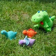[베이컨] 배부른 티라노 공룡 + 아기 공룡볼 캐치 토이