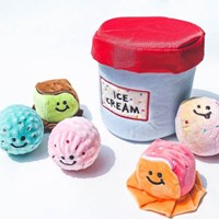 [베이컨] 아이스크림 버킷 헌팅토이