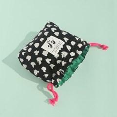 Pattern string pouch_Love