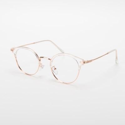 [SBKA]Replay-C02 투명 하금테 안경