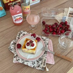 로즐리 키친클로스 - 핑크
