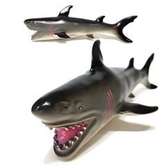소프트 해양 (중) 상어 모형 피규어
