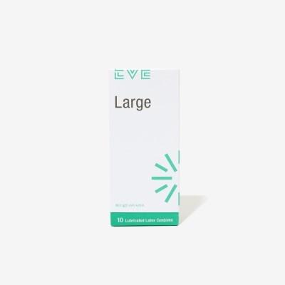 이브 라지 넉넉한 착용감의 초박형 콘돔