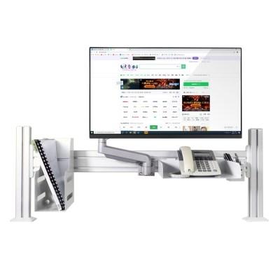 [카멜마운트] 슬랫타입 모니터암 거치대 SDS-1