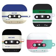 HI 믹스테이프 에어팟 케이스 에어팟 프로 2세대 1세대 pro 하드 2 1