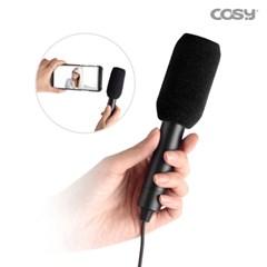 C타입 휴대용 스마트폰 마이크 방송 녹음용 MK3522
