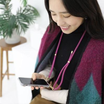 지현 핸드폰 스트랩 케이스 2020FW 골드(삼성케이스- S 시리즈)