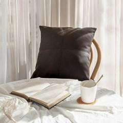 코렛 거실 가죽쿠션 (corret cushion)