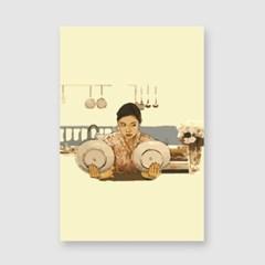 카모메식당 엽서