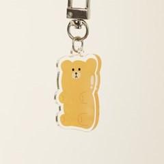 벌룬프렌즈 캐릭터 아크릴 키링 - 젤리곰 옐로우