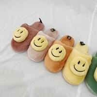 마카롱스마일 털슬리퍼 사무실 실내화 (7 colors)