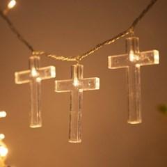 LED 전구캡 십자가 9cm(4개입+1개증정) TRLECV