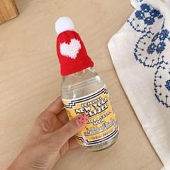 Heart Knit Hat 미니하트털모자