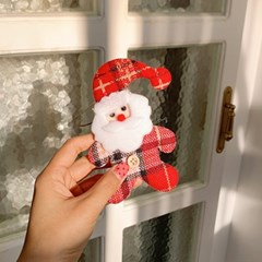 Flat Santa Ornament 체크산타오너먼트