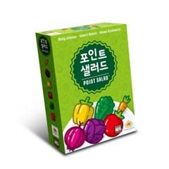 [만두게임즈] 포인트 샐러드 보드게임 / 8세이상, 2-6인