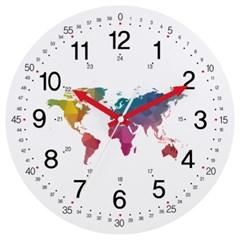 [글륵]도트숫자 시계지도 dot_worldmap