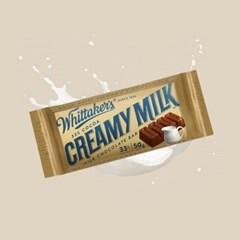 휘태커스 벽돌초콜릿 초콜릿선물 발렌타인 11_크리미밀크50gx3개