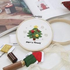 101도 프랑스자수 DIY 겨울시리즈 크리스마스 (트리)_(352967)
