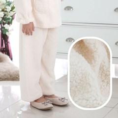 알콩단잠 여아 파자마 뽀글이 보아양털 유아동 주니어 잠옷바지