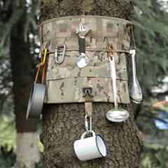 코알라 타입 캠핑 나무 둘레 소품걸이 수납 벨트 가방