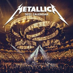 메탈리카 2021 캘린더 Calendar 달력_(1285156)