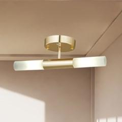 LED 센서등 시루 2등 현관조명_(1986740)