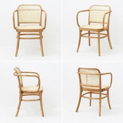 MB_C_0195 라군 라탄 암체어 우드 원목 홈 인테리어 의자