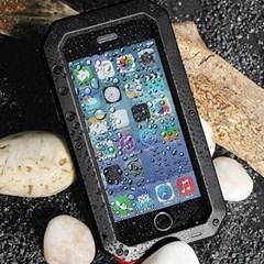 아이폰12미니 강화유리 멀티 메탈 하드 케이스 P123_(3420326)