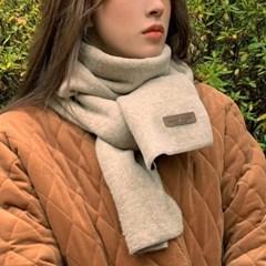 남자 여자 소프트 겨울 머플러