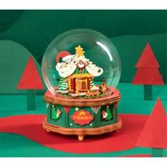 AM46 Christmas Town 산타마을 D.I.Y 뮤직 박스 (오르골)