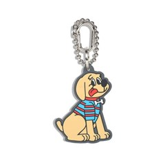 [monchouchou] Country Dog Rubber Key Ring_Beige Dog