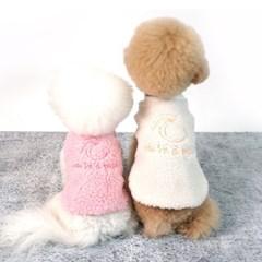 유아러피치 덤블 맨투맨 강아지겨울옷