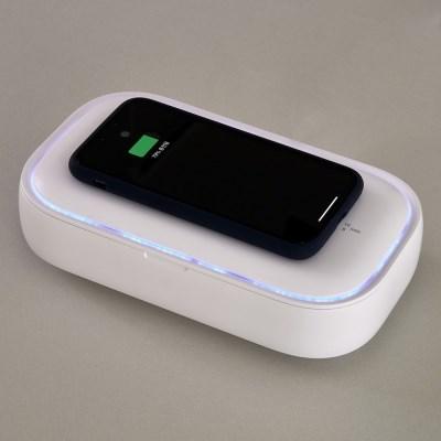 식스비 고속무선충전 핸드폰 마스크 살균기 wireles01