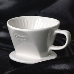 도모 도자기 커피드리퍼 소 1/2CUP 화이트_(3842610)