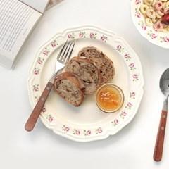 코벤트가든 빈티지 플레이트 로즈 접시(대) 24cm 1P