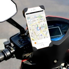 자전거 스쿠터 오토바이 스마트폰 휴대폰 거치대