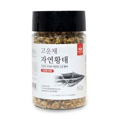 펫슐랭(sj) 고운채 자연황태 60g (건강한위장)
