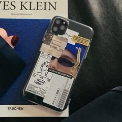 디자인케이스 블루라벨 젤리 케이스 아이폰12외 아이폰시리즈