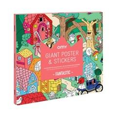 OMY 포스터&스티커-판타스틱 (OMY-POSTIK03)