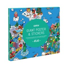 OMY 포스터&스티커-아틀라스 (OMY-POSTIK02)