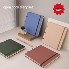 [텐바이텐 단독] Open book diary set