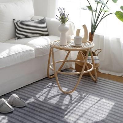 전자파없는 침대 거실 온열 전기매트_스트라이프 135x18_(636924)