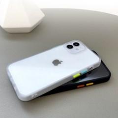 [Ultimate+] 버튼 컬러 체인지 케이스 아이폰12 시리즈
